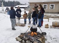 Outdoor demonstrations teach how Abenaki Indians processed maple sap (Outdoor demos take place on Saturday only).jpg