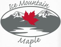 Ice Mountain Maple Logo